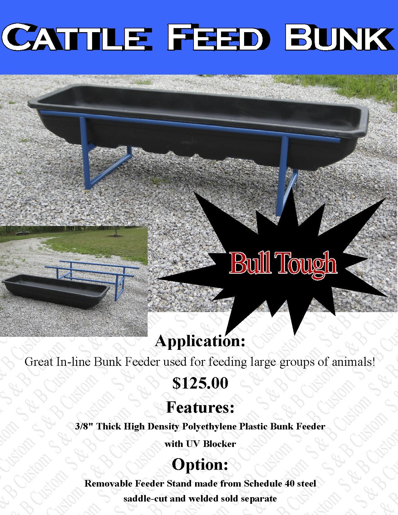Bull Tough Bunk Feeder Litterature copy