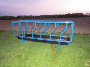 10' Feed Bunk with Panels