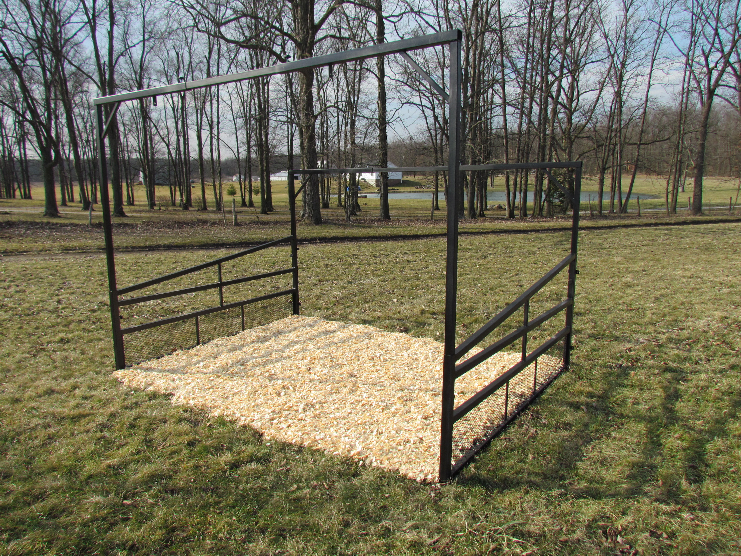 Herdpro cattle fan cage