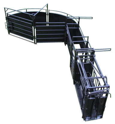 Herdpro Cattle Chute Alley and Tub