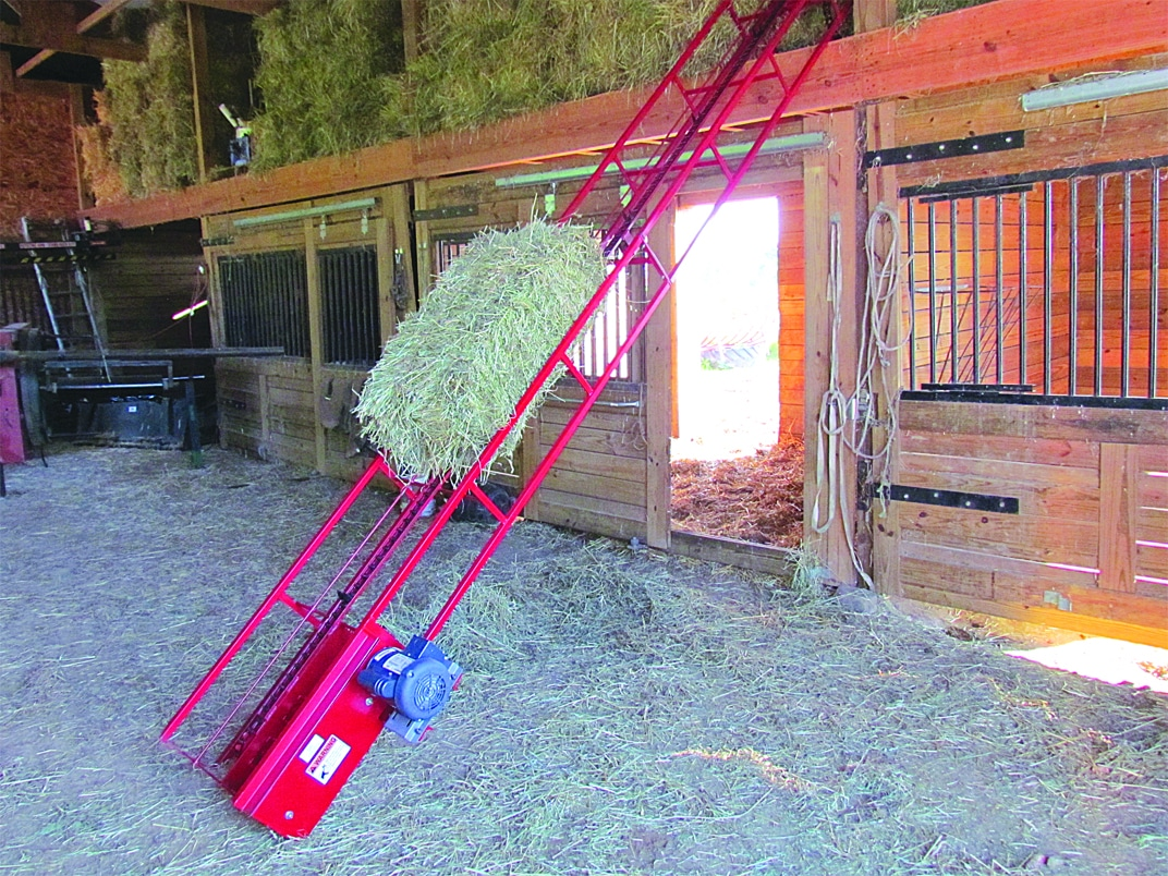 16' Hay Elevator with motor