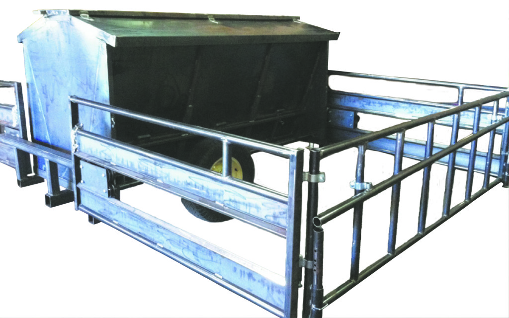 Creep Feeder with trailer