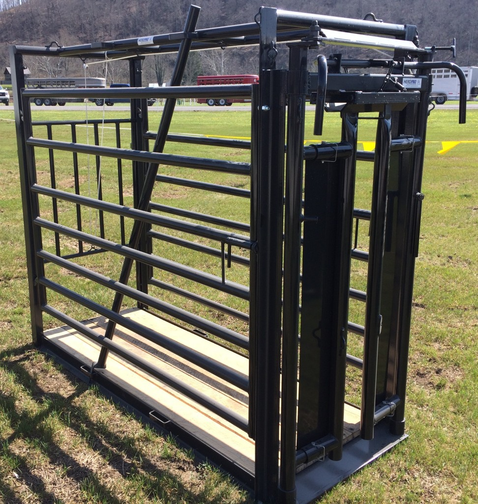 WC1600 chute with Automatic Headgate